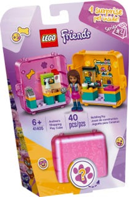 Lego Friends - Andreas Shopping Play Cube