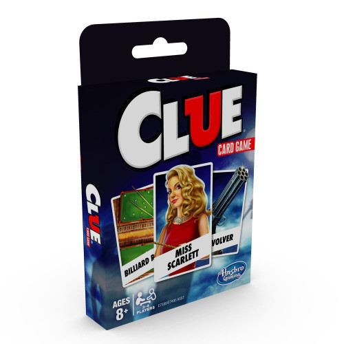 Classic card game - clue