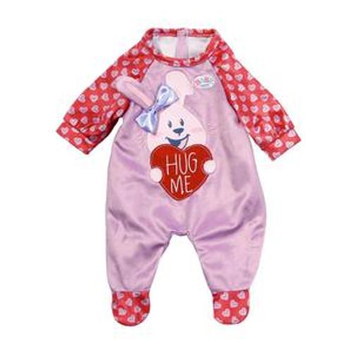 Baby Born Romper - Onesie Pink