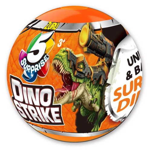 5 Surprise Dino Strike Series 1