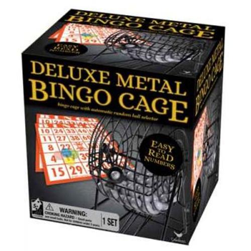 Classic Deluxe Metal Cage Bingo