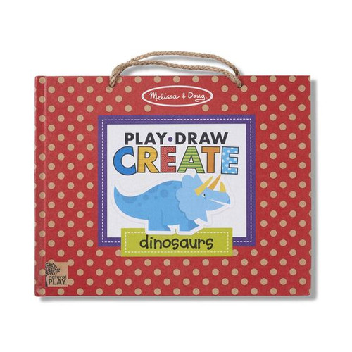 M&d natural play - play draw create dinosaurs