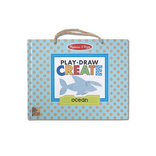M&d natural play - play draw create ocean