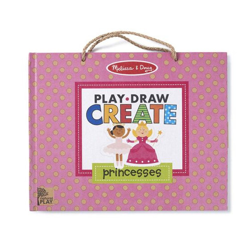 M&d natural play - play draw create princesses