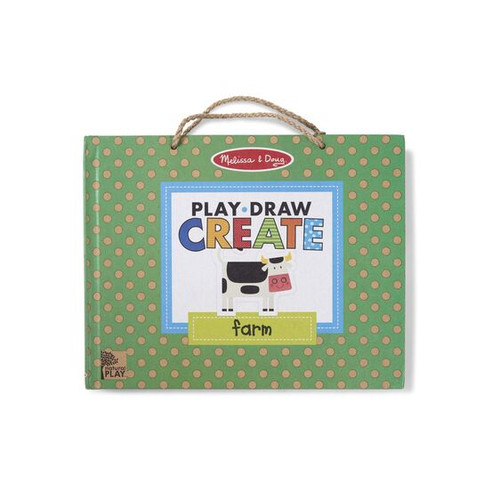 M&d natural play - play draw create farm