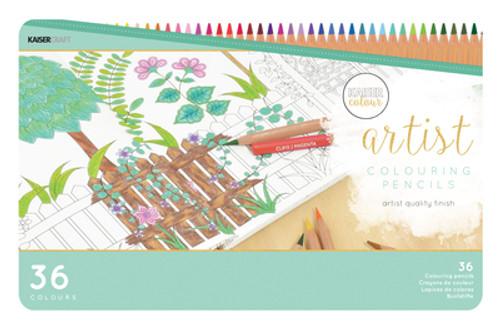 Kaisercolour Artist Coloured Pencils 36pc Tin