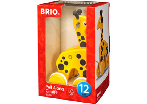 Brio - Pull Along Giraffe