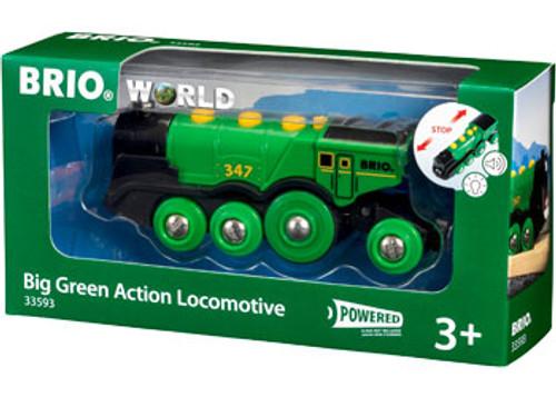 Brio - Big Green Action Locomotive