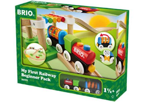 Brio - My First Railway Beginner Pack 18 Pieces