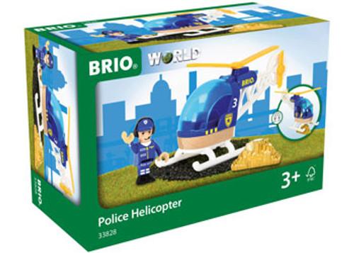 Brio Vehicle - Police Helicopter 3 Pieces