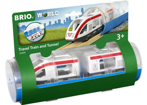Brio - Travel Train And Tunnel 3 Pieces