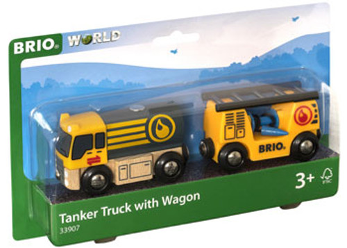 Brio - Tanker Truck With Hose Wagon