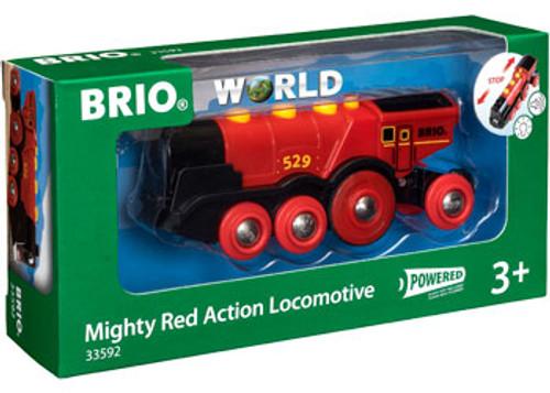 Brio - Mighty Red Action Locomotive