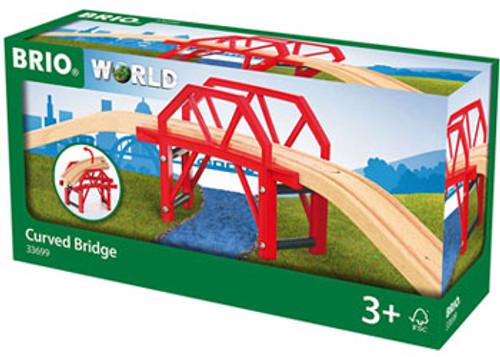 Brio - Curved Bridge 4 Pieces