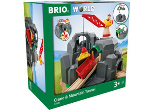 Brio - Tunnel Crane And Mountain Tunnel 7 Pieces