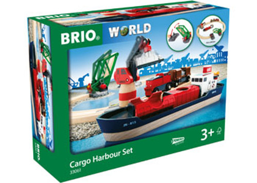 Brio - Cargo Harbour Set 16 Pieces