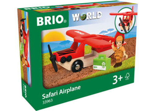 Brio Vehicle - Safari Airplane 3 Pieces