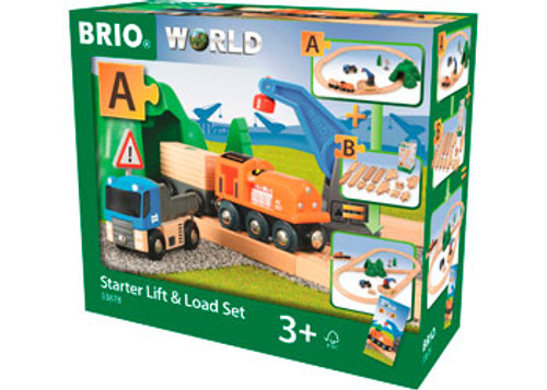 Brio - Starter Lift & Load Set 19 Pieces