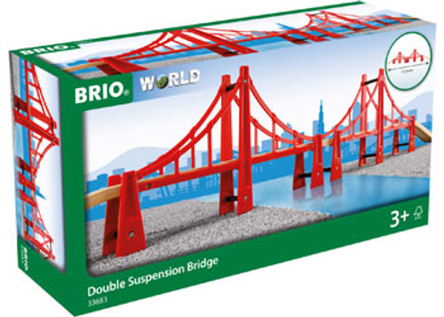 Brio - Double Suspension Bridge 5 Pieces