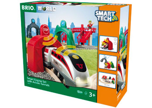 Brio - Smart Engine Set With Action Tunnels