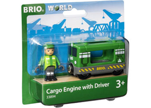Brio - Cargo Engine With Driver