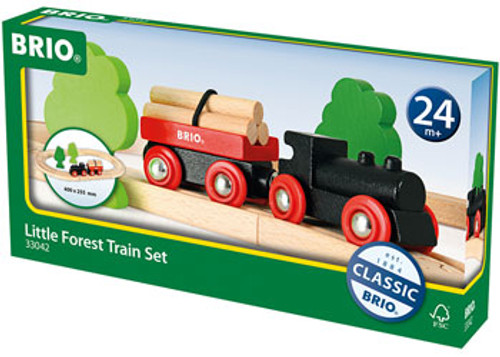 Brio - Little Forest Train Set 18 Pieces