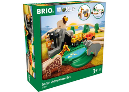Brio - Safari Adventure Set 26 Pieces