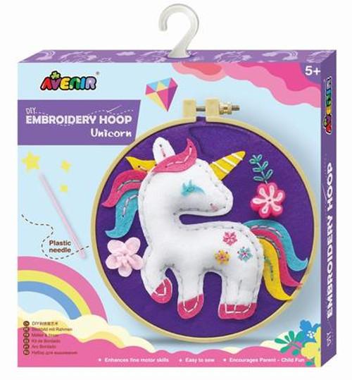 Avenir - Embroidery Hoop - Unicorn