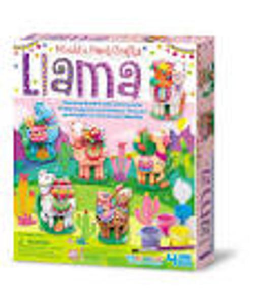 Mould and paint - llamas