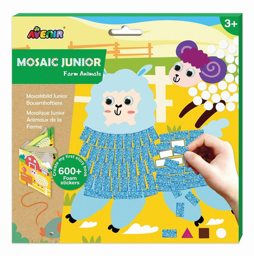 Mosaic Junior - Farm Animals
