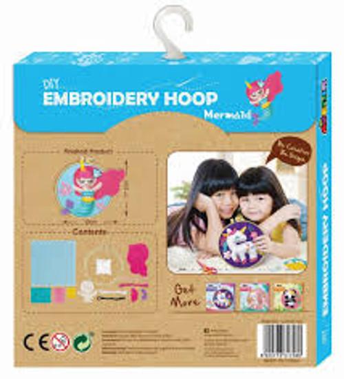 EMBROIDERY HOOP - MERMAID