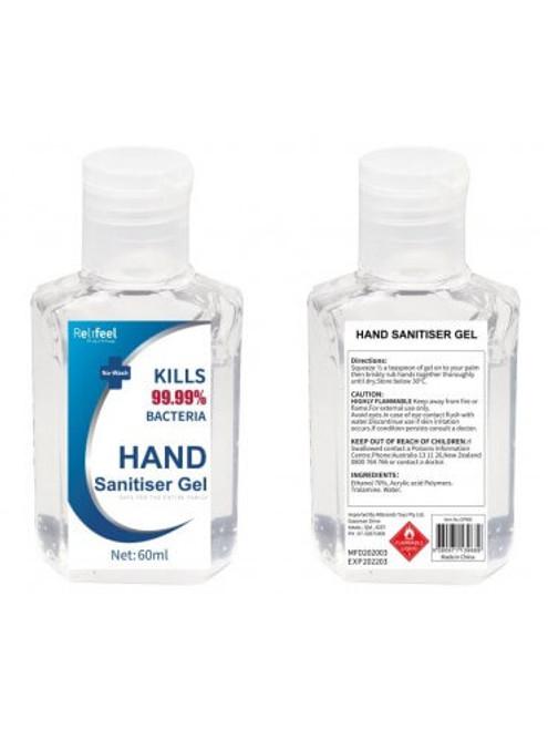 RELIFEEL HAND SANITISER 60ML