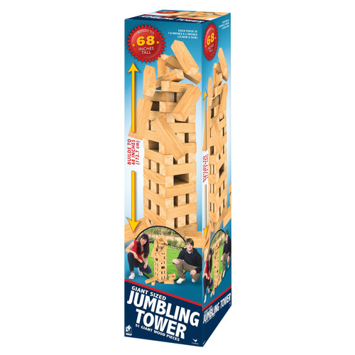 Classic Games 68 Inch Giant Tumbling Tower