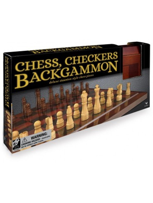 Deluxe Backgammon Chess And Checkers