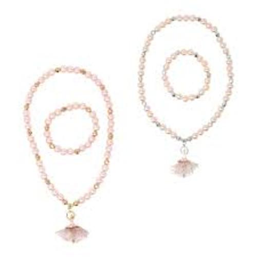 Little ballet dancer necklace & bracelet