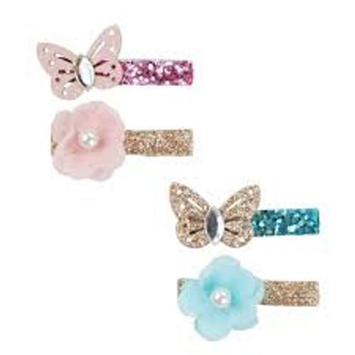Sparkle Garden Butterfly Hairclips