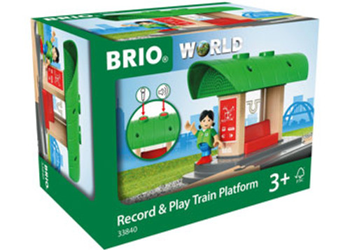 Brio Destination - Record & Play Train Platform