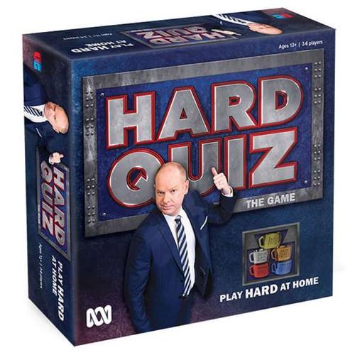 Hard quiz board game