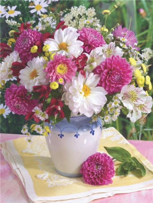 Diamond art floral arrangement 40cm x 50cm