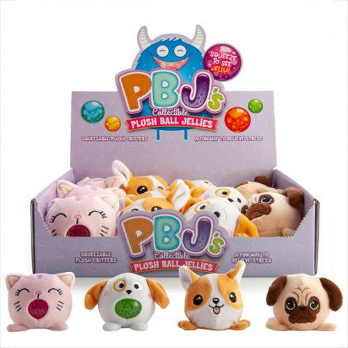 Squishy bubble plush pets