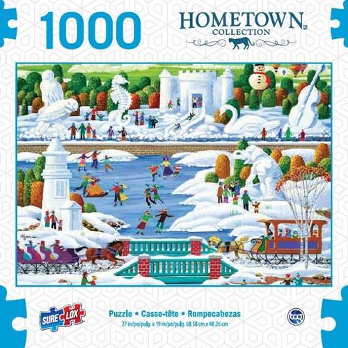 Sure Lox - Wisconsin Snow Sculpture Puzzle 1000 Piece