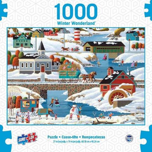 Sure Lox - New England Winter Puzzle 1000 Piece