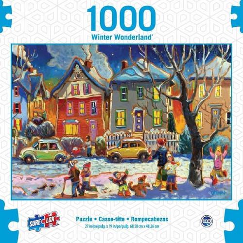 SURE LOX - WINTER PLAY PUZZLE 1000 PIECE