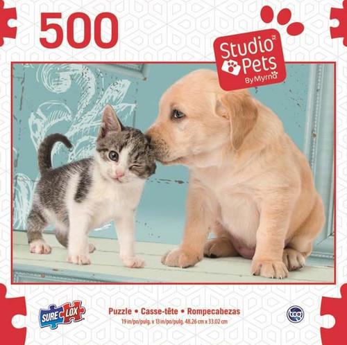 SURE LOX - PUPPY & KITTEN PUZZLE 500 PIECE