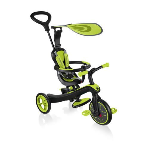Globber Explorer Trike 4 in 1 Lime Green