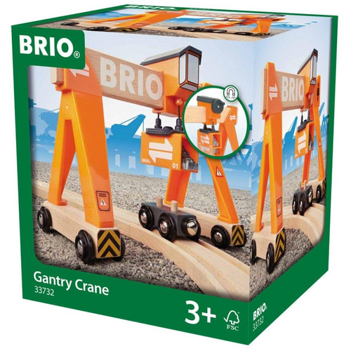 Brio - Gantry Crane 4 Pieces