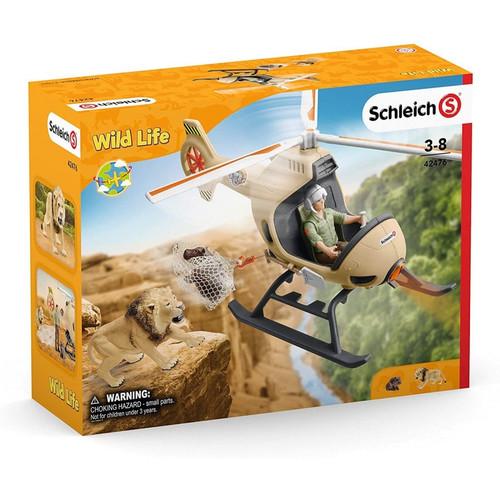 Schleich - animal rescue helicopter