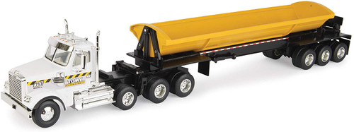 Freightline 122sd Semi With Side Dump Trailer 1:32 Scale
