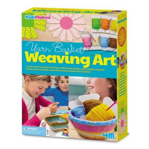 4m- KidzMaker - Basket Weaving Kit