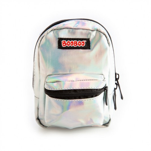 Backpack minis - irid silver